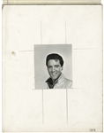 "Elvis Presley Vintage Exhibit Card ""Proof"" Artwork"