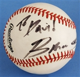 Bruce Springsteen Signed Official National League Baseball