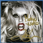 "Lady Gaga Signed ""Born This Way"" CD"