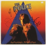 "The Police Signed ""Zenyatta Mondatta"" Album"