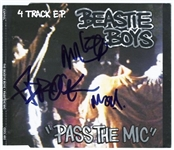 "Beastie Boys Signed ""Pass The Mic"" CD"