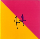 "James Taylor Signed ""Flag"" Album"
