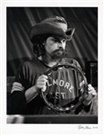 "Ron ""Pigpen"" McKennan Grateful Dead Photograph Signed by Photographer Robert Altman (11 X 14)"