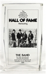 The Band Original Canadian Hall of Fame Award