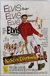 "Elvis Presley 27 x 41 Original ""Kissin Cousins"" Movie Poster"