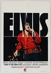 "Elvis Presley 14 x 21 Original ""Thats The Way It Is"" Belgian Movie Poster"