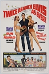 "Elvis Presley 27 x 41 Original ""Fun In Acapulco"" and ""Girls! Girls! Girls"" Movie Poster"