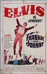"Elvis Presley 26 x 41 ""Frankie and Johnny"" Original Movie Poster"
