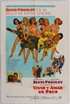 "Elvis Presley 29 x 43 Original ""Live a Little, Love a Little"" Mexican Movie Poster"