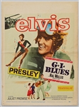 "Elvis Presley 14 x 19 Original ""G.I. Blues"" Movie Mini-Poster"