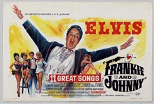 "Elvis Presley 14 x 21 Original ""Frankie and Johnny"" Movie Poster"