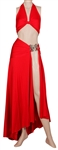 "Lady Gaga ""American Horror Story: Hotel"" Screen Worn Two-Piece Red Gown"