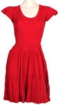 "Taylor Swift ""Valentines Day"" Film Worn Red Dress"