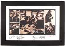 "Bon Jovi Signed ""Cross Roads"" Limited Edition Lithograph"