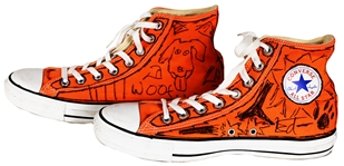 "Ed Sheeran ""In Their Shoes"" Personally Designed Custom Converse Sneakers"
