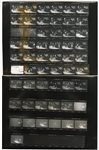 "Fleetwood Mac Original ""Live"" Album Cover Contact Sheet Artwork from the Collection of Larry Vigon"