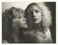 "Fleetwood Mac ""Mirage"" Stevie Nicks and Christine McVie Original George Hurrell 11 x 14 Album Photograph Artwork from the Collection of Larry Vigon"