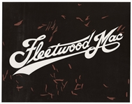 Fleetwood Mac Original Larry Vigon Logo Artwork from Vigons Personal Collection