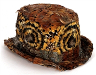 Motley Crue Tommy Lee Worn Custom Ivy Supersonic Feathered Hat