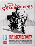 "Pete Townshend ""Classic Quadrophenia"" Featuring Eddie Vedder and Billy Idol Original Concert Poster"
