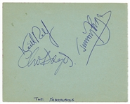 Yardbirds Signed Autograph Page (3)