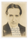 Howard Thurston Signed and Inscribed Photograph JSA LOA
