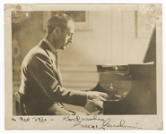 George Gershwin Signed and Inscribed Photograph JSA LOA