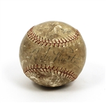 Babe Ruth Signed Baseball Beckett LOA