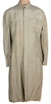 "Peter Gabriel ""So"" Tour Stage Worn, Signed and Inscribed Long Nehru-Style Grey Jacket"