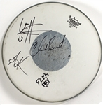 Red Hot Chili Peppers Signed Remo Drum Head