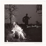 "Don Henley Signed ""Cass County"" Danny Clinch Original Album Cover Photograph"