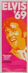 "Elvis Presley Elvis 69 ""The Trouble With Girls"" Original Insert Movie Poster"