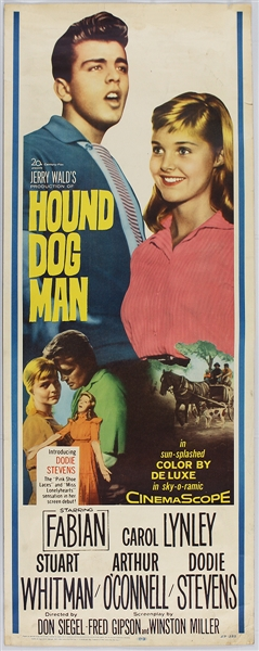 "Fabian ""Hound Dog Man"" Original Insert Movie Poster"