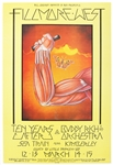 Ten Years After Original 1970 Fillmore West Concert Poster