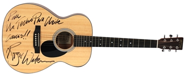 "Pink Floyd Roger Waters Owned and Played Martin Acoustic Guitar Used to Record a Rare Version of ""Wish You Were Here"""