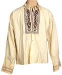 Jimi Hendrix Owned & Worn Southwestern-Style Embroidered Shirt