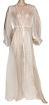 "Ariana Grande ""God Is A Woman"" Music Video Worn White Silk Organza Dressing Gown"