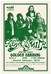 Aerosmith Original Early 1978 Concert Poster