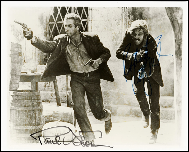 "Robert Redford & Paul Newman Signed ""Butch Cassidy and The Sundance Kid"" Photograph"