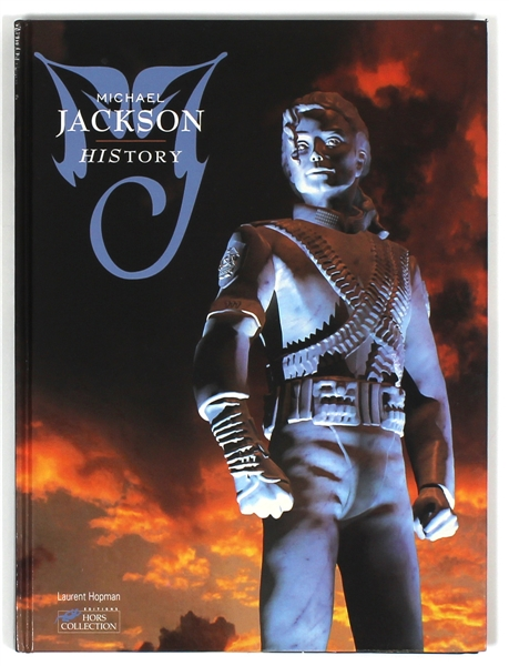 "Michael Jacksons Personally Owned ""HIStory"" Book"