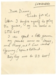 Beatles George Harrison Handwritten Letter to a Fan Authenticated by Frank Caiazzo