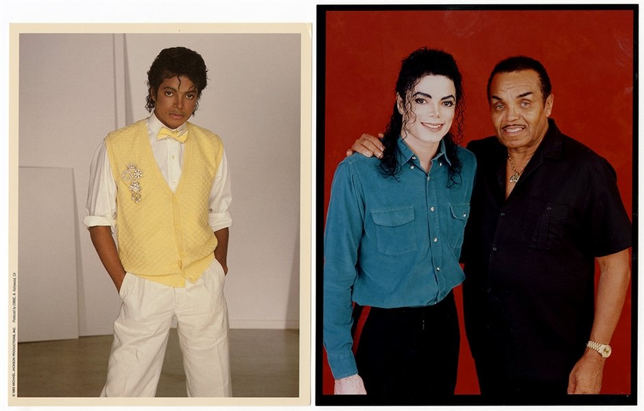 Michael Jackson Personally Owned Original  Photographs (2)