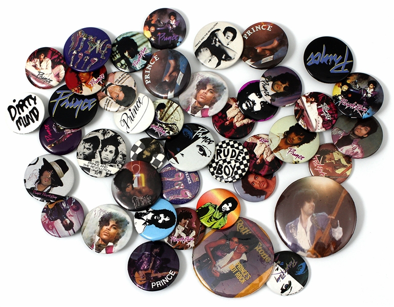 Set of Prince Original Pins