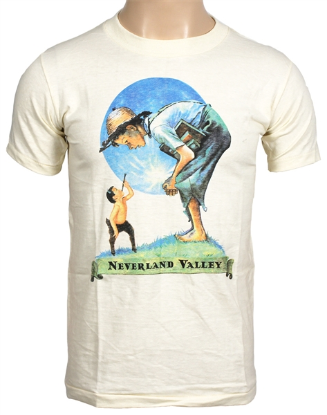 "Michael Jackson Personally Owned ""Neverland Valley"" Off-White Childrens/Junior  T-Shirt"