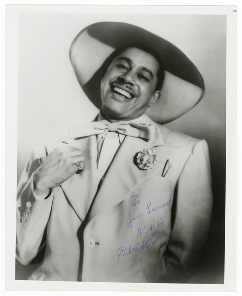 Cab Calloway Signed Photograph JSA Authentication