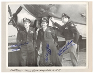 Enola Gay Crew Signed and Inscribed Original Photograph JSA Authentication