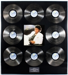 "Michael Jackson ""Thriller"" Original Over-Sized Epic Records U.K. Multi- Platinum Record Album Award Presented to Manager Frank DiLeo"