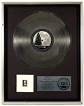 "Dan Fogelberg ""The Innocent Age"" Original RIAA Platinum Record Album Award Presented to Frank DiLeo"