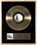 "Dan Fogelberg ""Windows and Walls"" Original RIAA Platinum Record Album Award Presented to Frank DiLeo"
