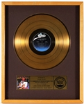 "Luther Vandross ""Busy Body"" Original RIAA Gold Record Album Award Presented to Frank DiLeo"